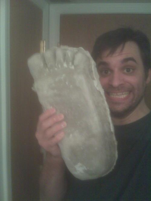 Foot of terror!