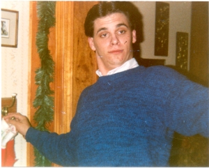 This picture of me taken during my high school years is proof positive that I wasn't a tool.
